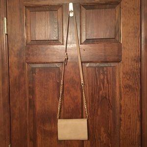 Francesca's - caramel color crossbody bag